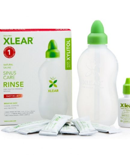 Xlear Sinus Care Rinse with 6 Packets Xlear Sinus Care Solution (Maximum Care)